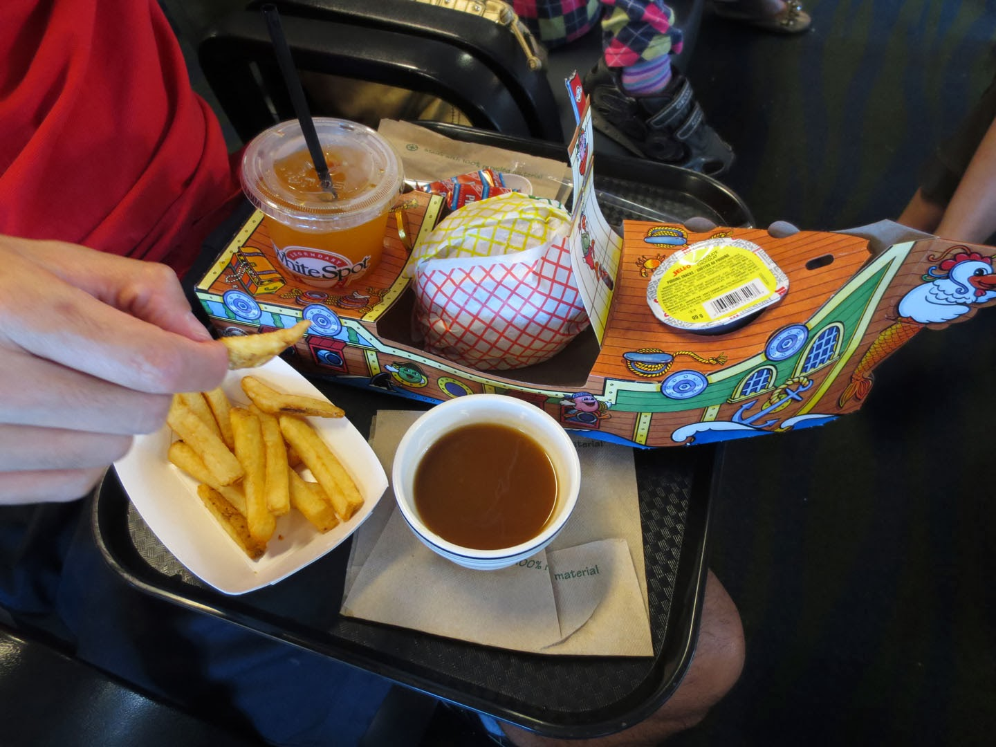 Pirate Pak meal, BC Ferries