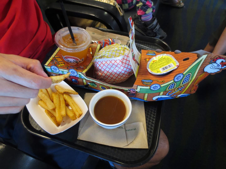 Pirate Pak meal, BC Ferries