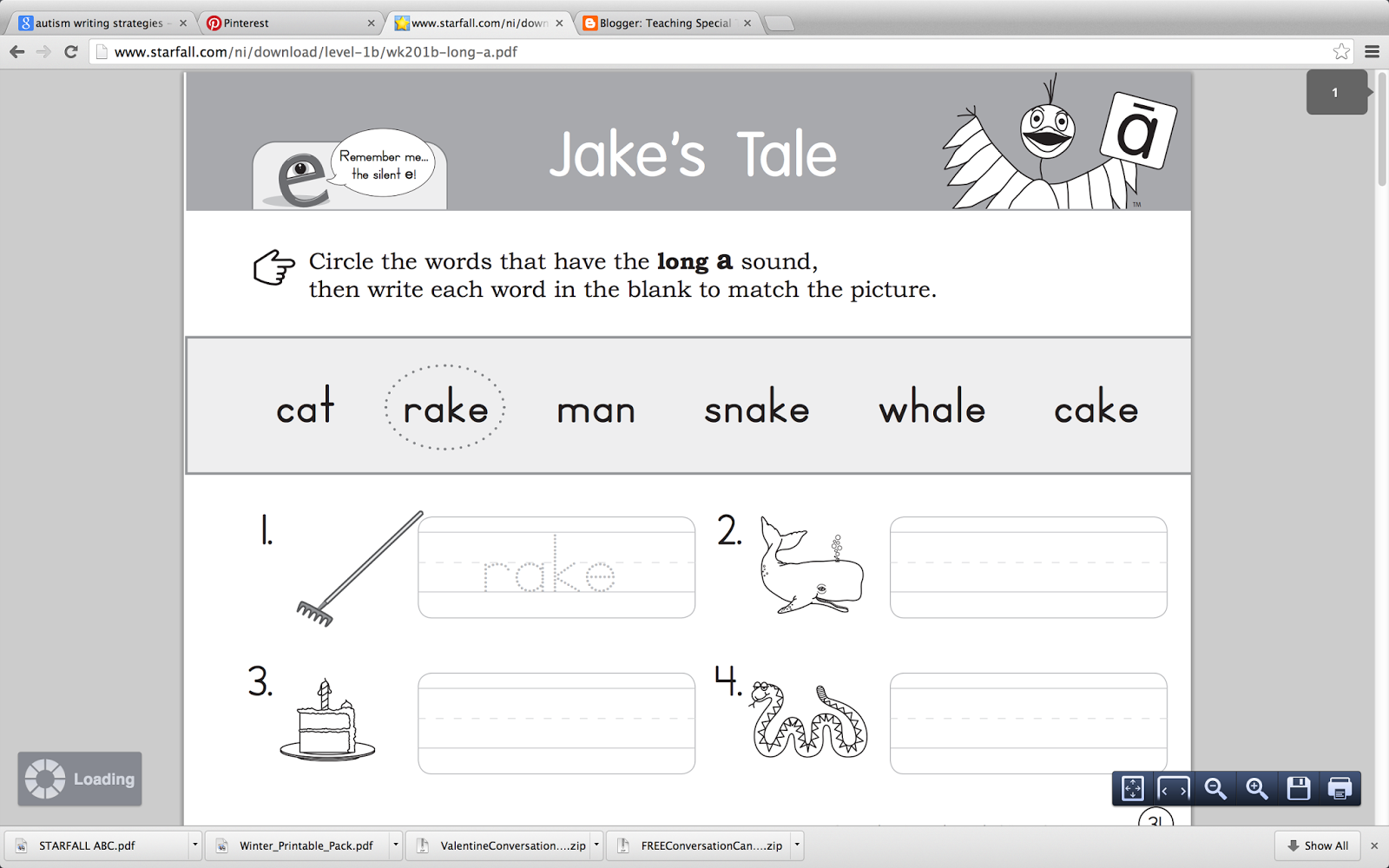 they have alphabet sheets 3 activity sheets per letter - Wwwstarfallcom Free Download