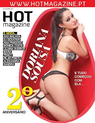 Doriana é capa da HotMagazine