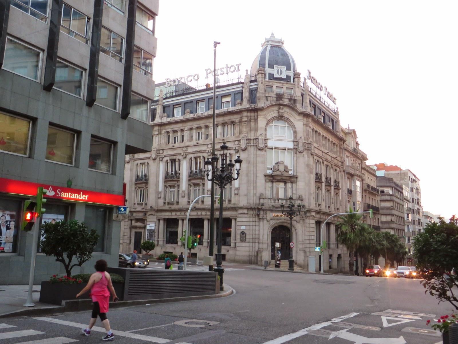 Urbina vinos blog la ciudad de vigo provincia de for Oficinas banco pastor vigo