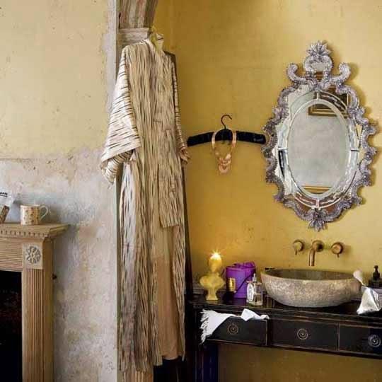 Agosto 31 6 trucos para un ba o chic small lowcost for Living etc bathroom ideas