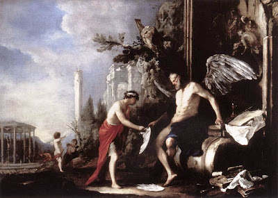 Древнегреческий бог огня кеарас