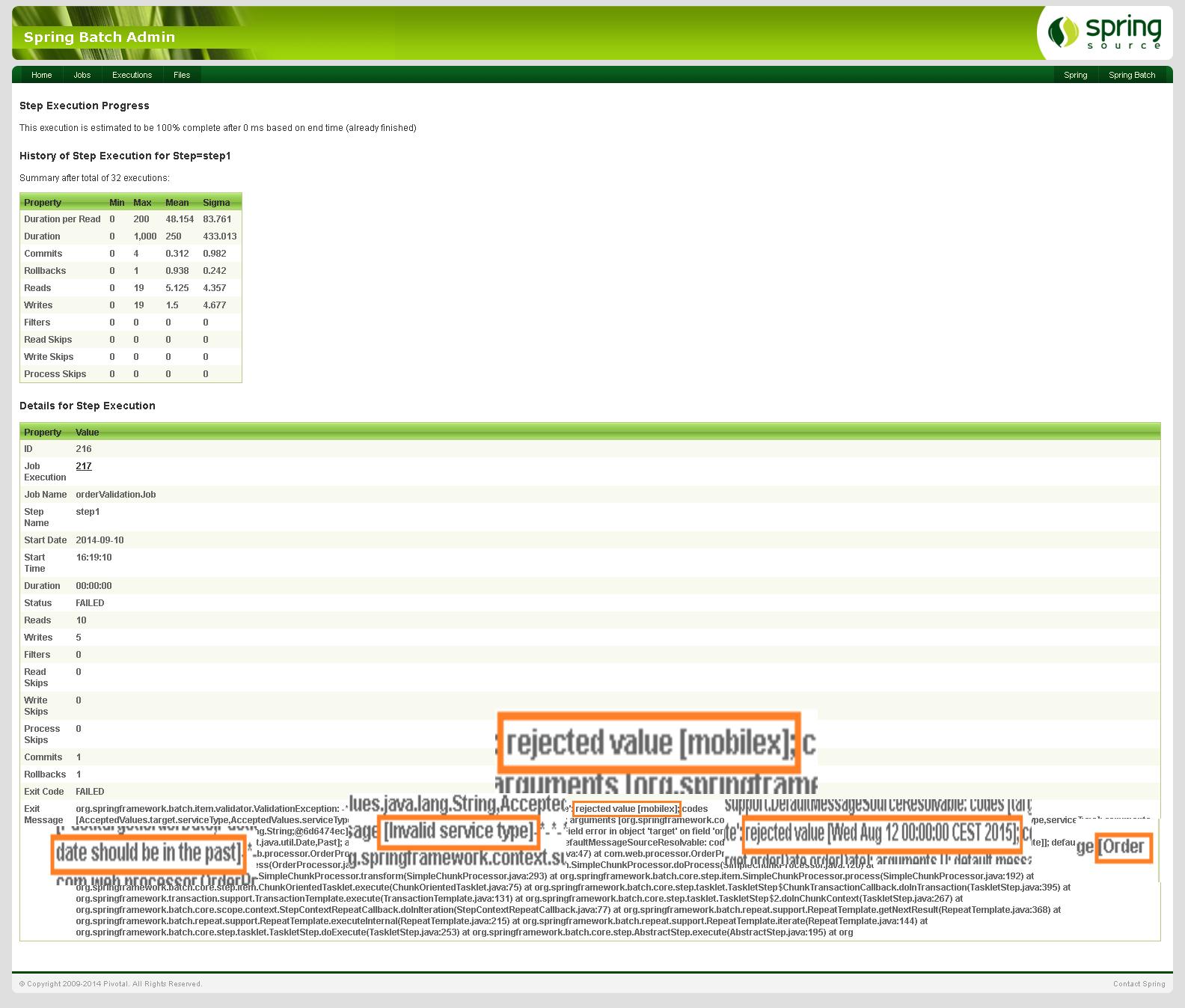 Spring batch validate input data picture 3 validation messages baditri Choice Image