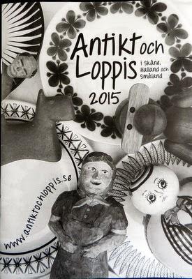 Antik o Loppisguiden 2015
