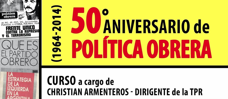 50º Aniversario del PO (1964-2014) - TEMARIO