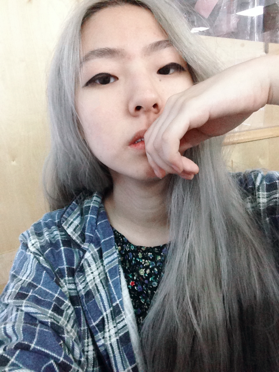 Virgin asian black hair to pastel steel pastel grey hair diy style virgin asian black hair to pastel steel pastel grey hair diy style solutioingenieria Image collections