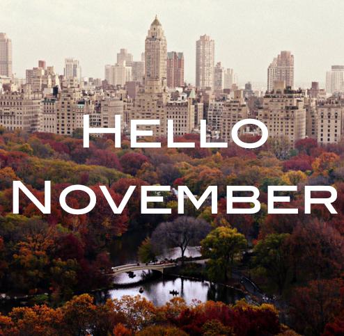 November Baby, Be Good To Me.