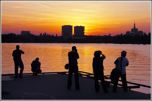 poze frumoase apusuri Bucuresti Romania beautiful sunsets Bucharest Herastrau Stefan Andronache photographer