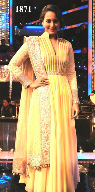 Latest Collection Bollywood Replica Anarkali Suit Online