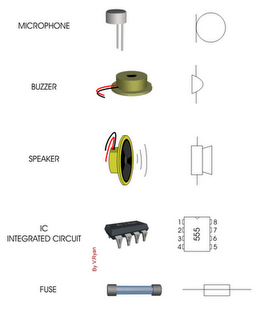 Pics For > Electronic Components Symbols And Names