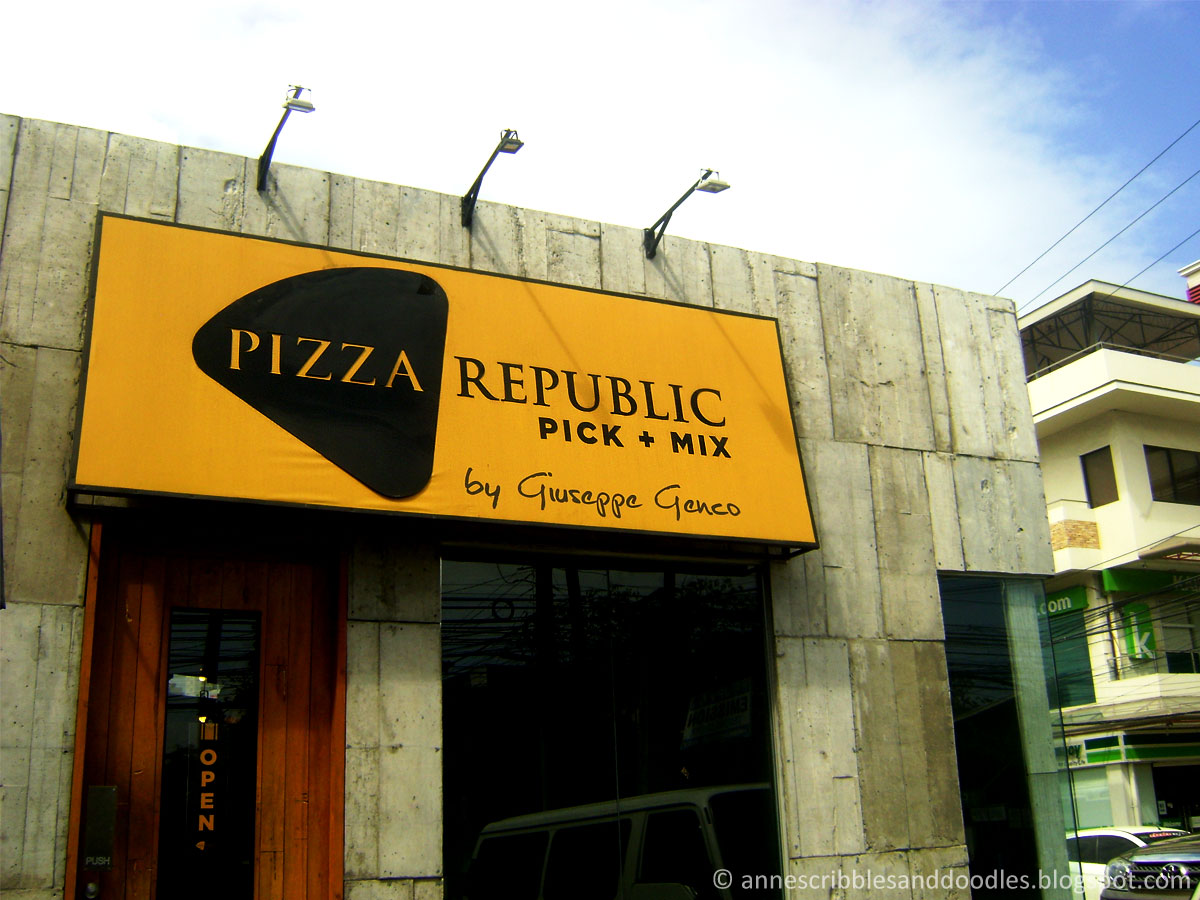 "Pizza Republic ""Pick + Mix"" by Giuseppe Genco"