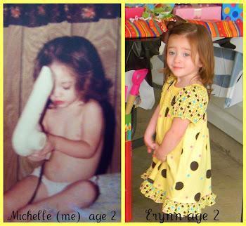 Us at the same age!