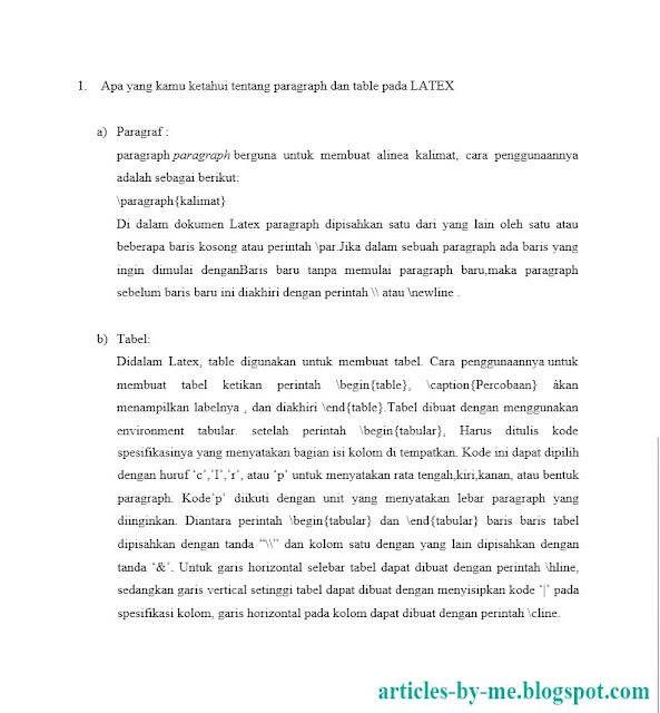 Contoh Laporan Pendahuluan ILAB Sistem Informasi (SI)