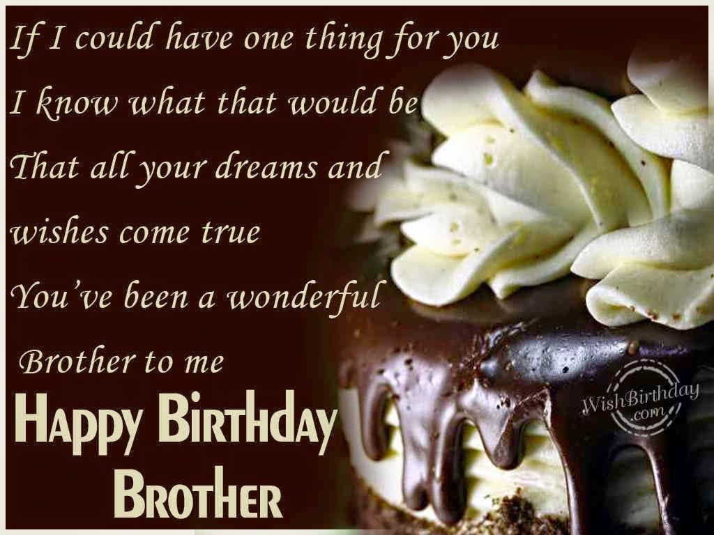 Cool And Cool Birthday Wishes Elder Brother