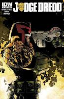 Judge Dredd #4 Cover