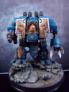 forgeworld warhammer 40k ultramarine venerable dreadnought cybot