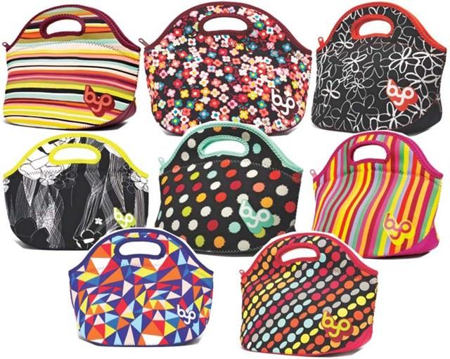 Bolsa Feminina Com Compartimento Para Marmita : Ch? de tecido marmita chique