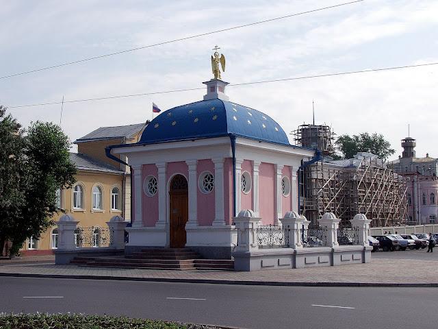 главная площадь города, Томск