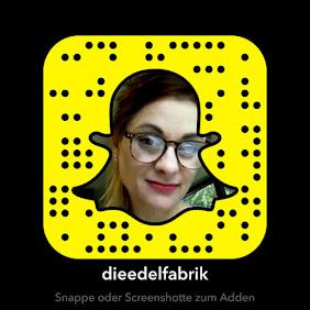 Snapchat @dieedelfabrik