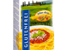 glutenfreies Spaghettigericht von Schär, Glutano und REWE