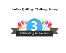 Indian quilling challenge