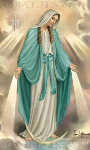 La Virgen La Milagrosa.