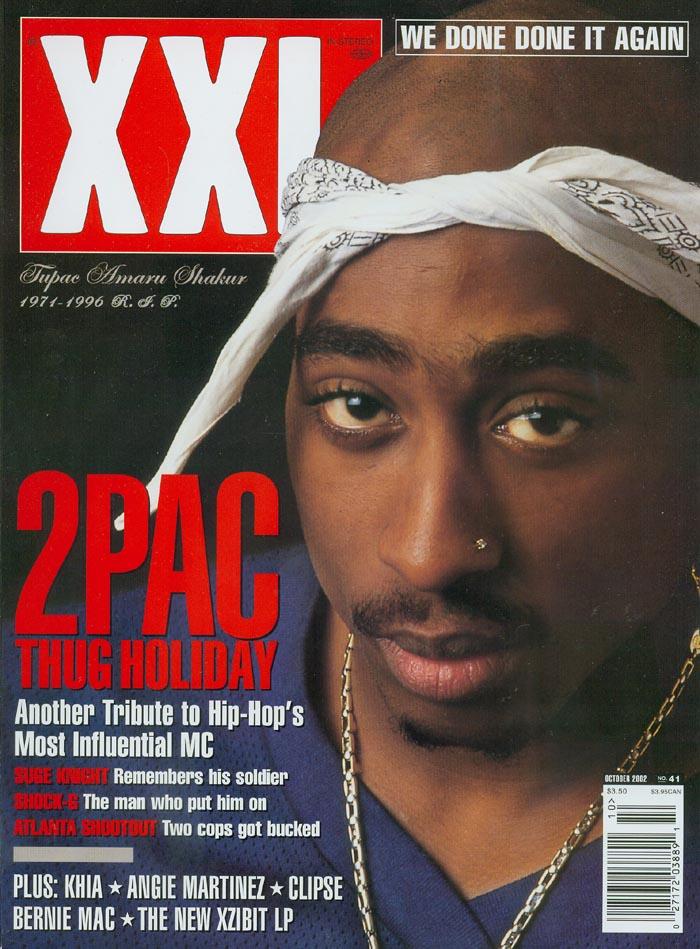 Tupac XXL Magazine