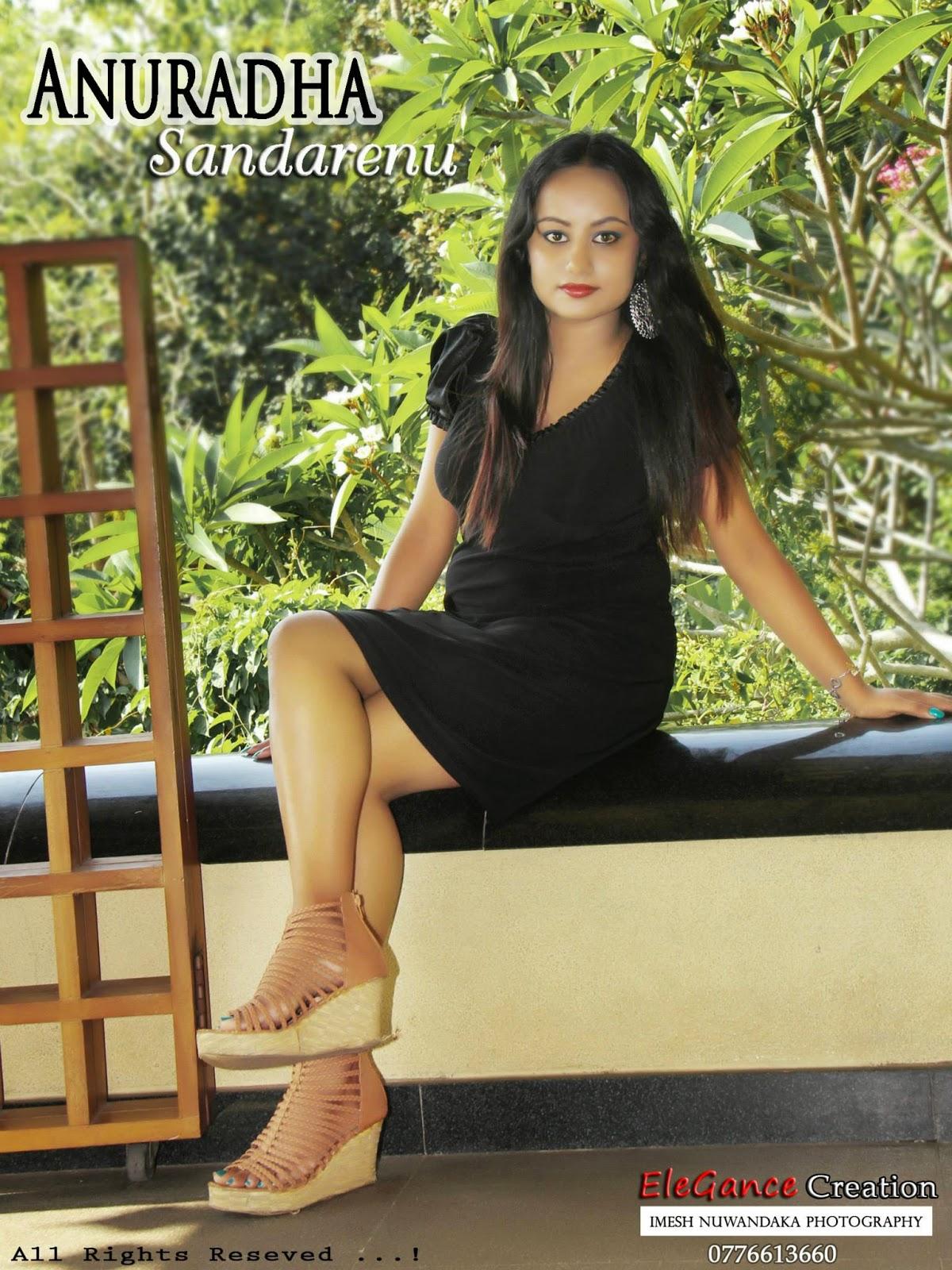 ANURADHA SANDARENU hot legs
