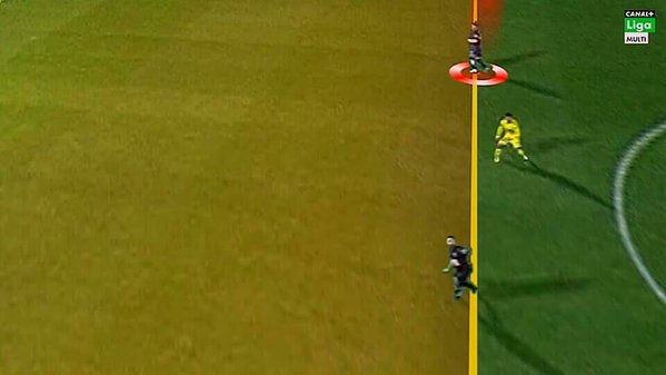 El primer gol del Eibar en fuera de juego