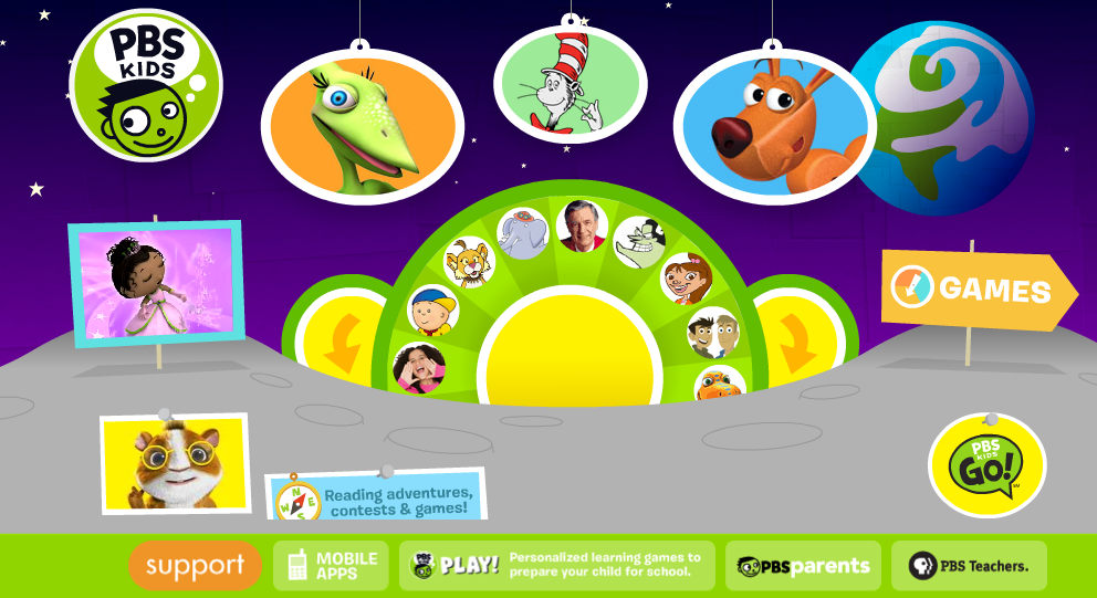 HTS Summer Learning Blog: PBS Kids - A great resource for ...
