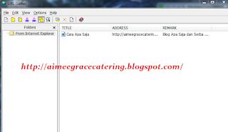 Cara Menyimpan Halaman Website dan Blog Orang Lain Dengan URL Gather