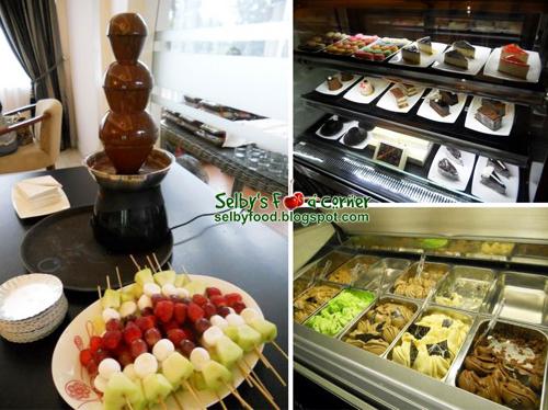 Corner Bakery Coffee Cake Nutrition