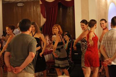 Чакарера на фестивале «Tango d'amore» в Одессе.