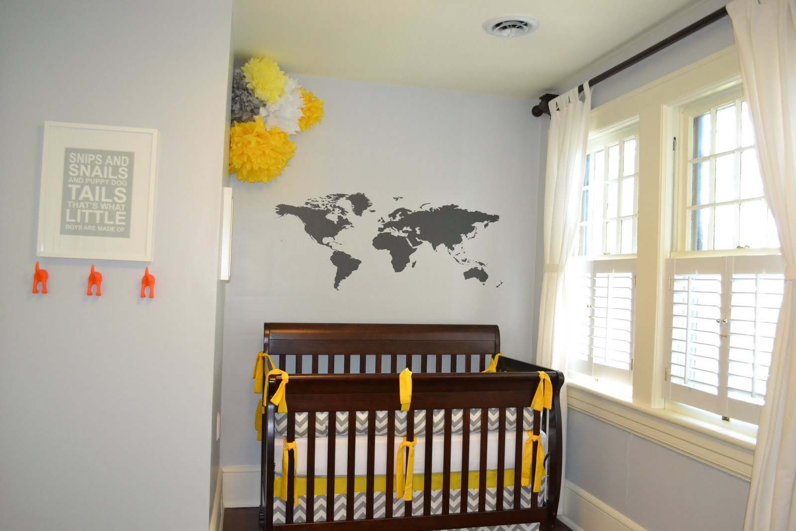 E Myself And I Gray And Yellow Nursery Reveal