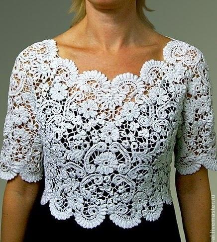 Irish Crochet Top Patterns Free Dancox For