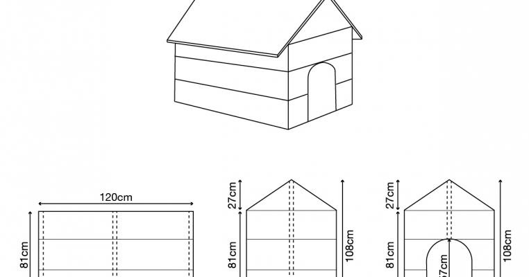 regardez pour pr voit de construire un niche pour chien et faire vous m me. Black Bedroom Furniture Sets. Home Design Ideas