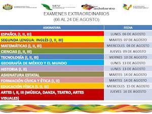 APLICACIÓN DE EXÁMENES EXTRAORDINARIOS