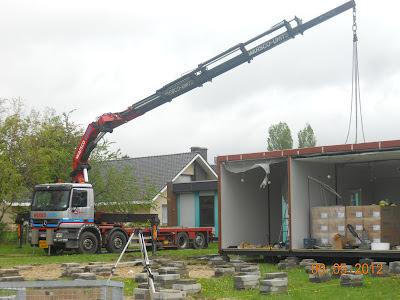 bouwwerken nieuwe school