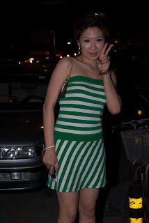 Nightclubbing girl, Beijing 2009