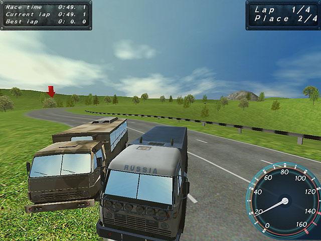 لعبة سباق الشاحنات Max Power Trucks