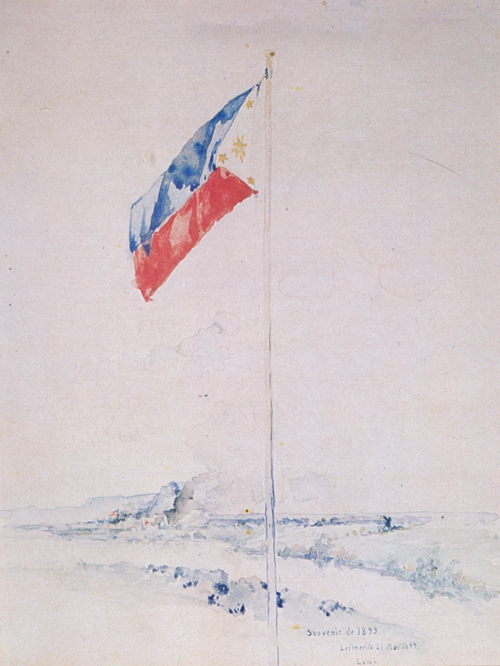 Philippine Flag Sketch
