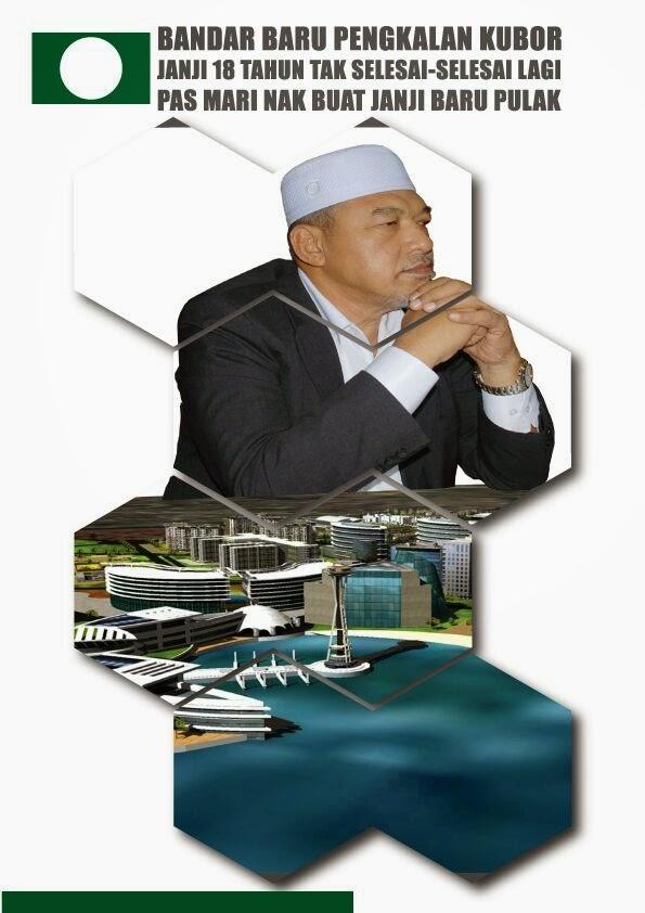 18 tahun dulu MAT YAACOB NIPU RAKYAT denge projek Bandar Baru P Kubor