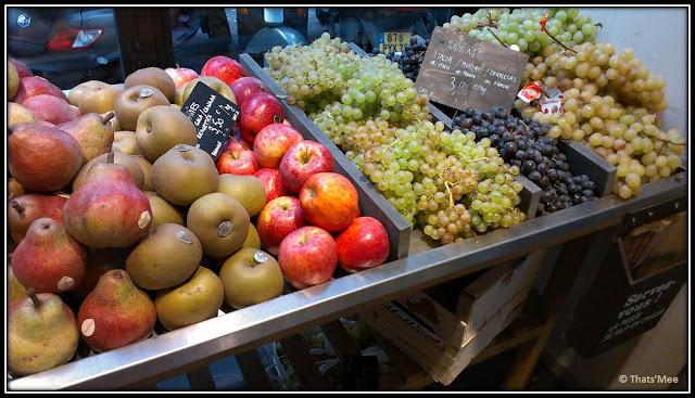 fruits du verger CAUSSES, alimentation générale Notre dame de lorette Pigalle Paris