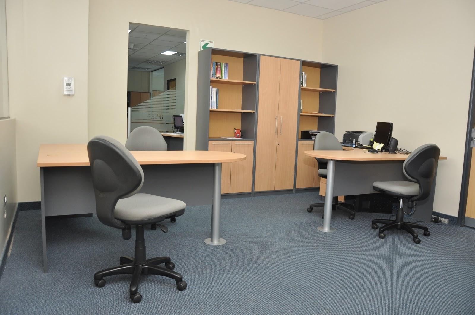 Oniria mobiliario institucional oficinas administrativas for Planos de oficinas administrativas