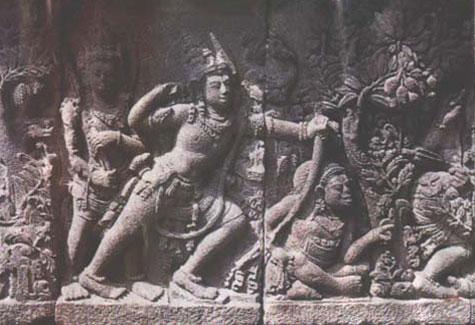 gambar peninggalan hindu budha pada masa hindu budha ini kaum brahmana