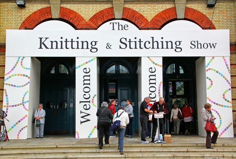 Knit And Stitch Show : machinequilter: Ally Pally Knitting and Stitching Show 2013
