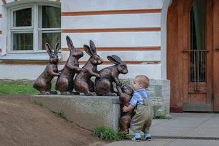 Cute Adorbale Boy helping
