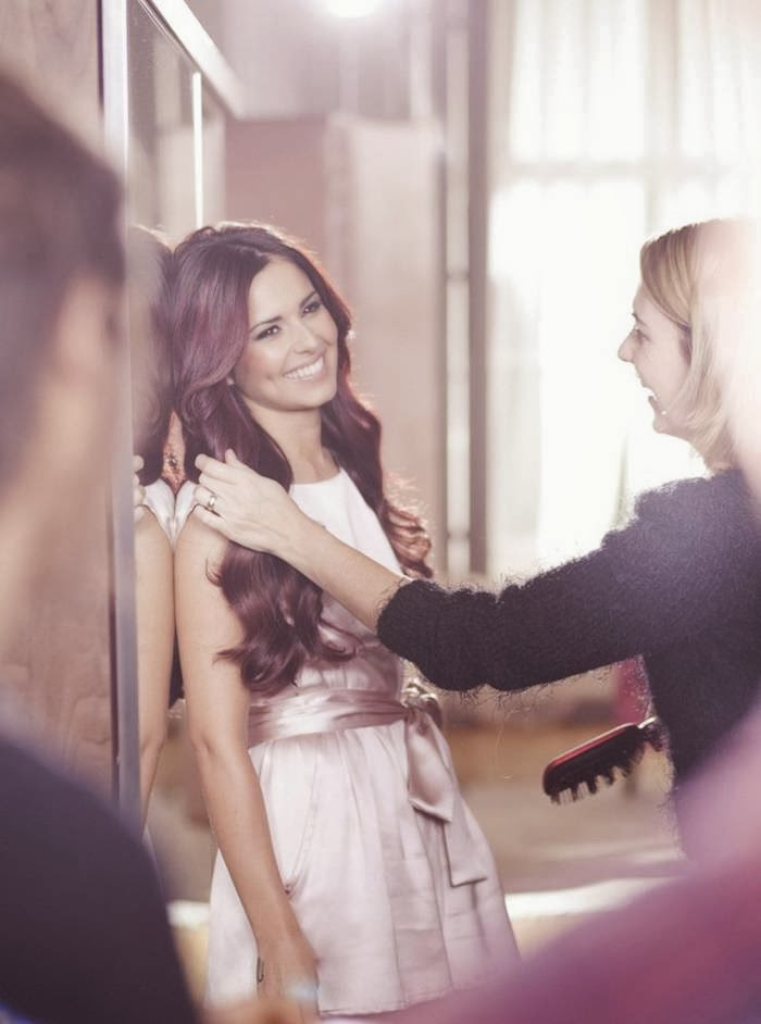 30 year old British singer Cheryl Cole took part in a photo shoot of British photographer Charlotte Medlicott for the L'Oreal Paris 2013