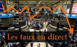 La crise de l'euro: des dettes et des taux